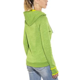 Edelrid Blockstar Zip Hoody Women green pepper